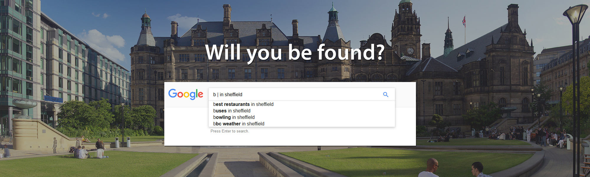 Will your business be found on Google?