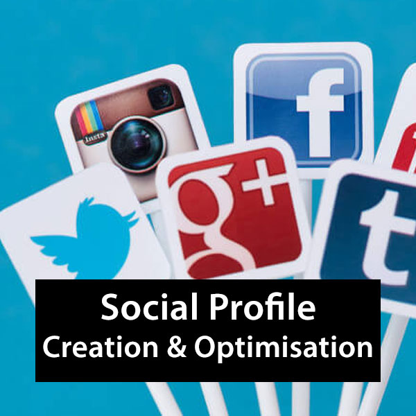 Social profile creation